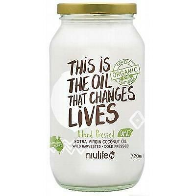 Niulife Certified Organic Extra Virgin Coconut Oil Eco Friendly