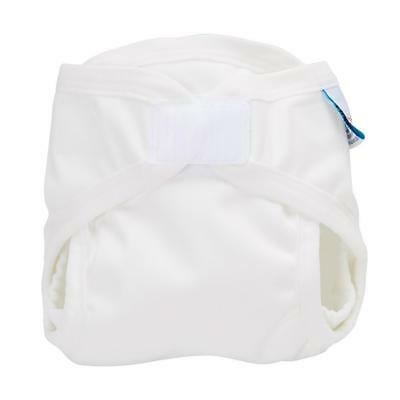 Bubblebubs PUL Gusseted Cover - White Eco Friendly