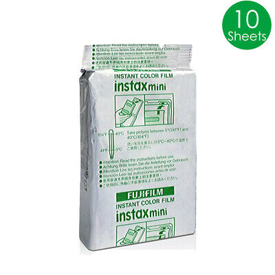 10 Sheet Fujifilm Instax Mini White Film Fuji instant photos 7s 8 Plus 90 25 AU