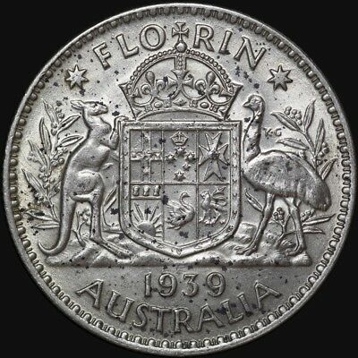 1939 Florin Good Extremly Fine Condition
