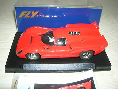 FLY Slot Car C35 1:32 132 - LOLA T70MK mit Calcas-Decals - in Box