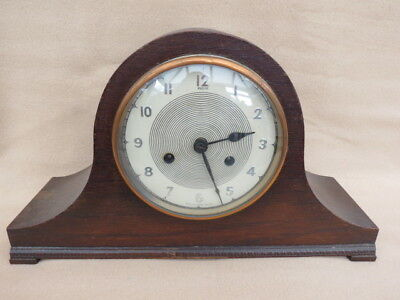 Vintage Andrew 8 Day Striking Napoleon Hat Clock For Tlc