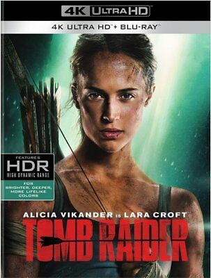 Tomb Raider (4K Ultra HD Blu-ray Disc ONLY, 2018)
