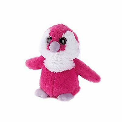 Intelex Warmies Plush Penguin Pink Lilac Large Microwaveable Kids Soft Toy Gift