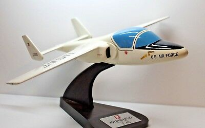 """Beautiful Hand Craved Usaf Fairchild T-46 11 1/2"""" Ws X 14 1/2"""" L Has Issues"""