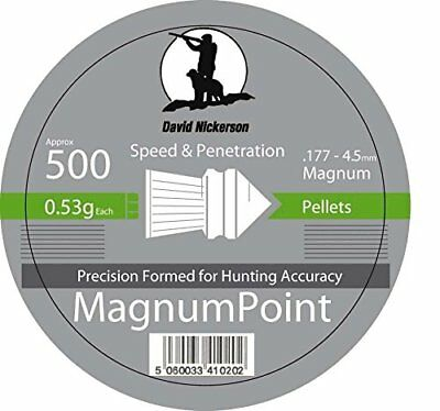 David Nickerson Magnum Point Air Pellets .177 Outdoors Sporting Hunting