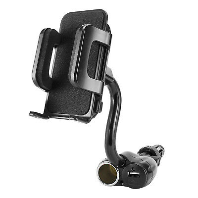 Cigarette Lighter Bendable Phone holder fits Samsung Galaxy S9