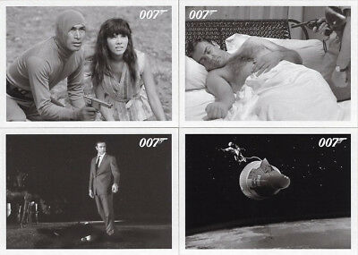 JAMES BOND ARCHIVES (2015 Rittenhouse): Lot of 4 You Only Live Twice Throwbacks