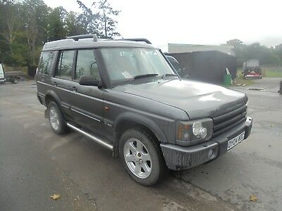 2004 04 Reg Land Rover Discovery Es Premium Td5 Auto Spares Or Repairs No Reserv