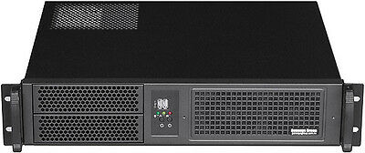 """2U (Micro-ATX / ITX)(2x5.25""""+ 2x HDDs Bay)(Rackmount Chassis)(D:14.96"""" Case) NEW"""