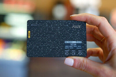 FuzeM : Fuze Card - Your whole in one smart card (without EMV chip)