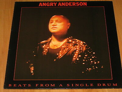 Angry Anderson (Rose Tattoo) - Beats from a single drum LP 1988 (5)