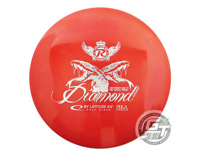 NEW Latitude 64 Recycled Gold Diamond Light 154g Red Silver Driver Golf Disc