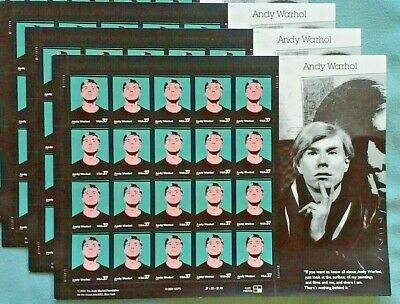 Five (5) Sheets x 20 = 100 POLAR LIGHTS 41¢ US PS Postage Stamps. Sc # 4203-4204