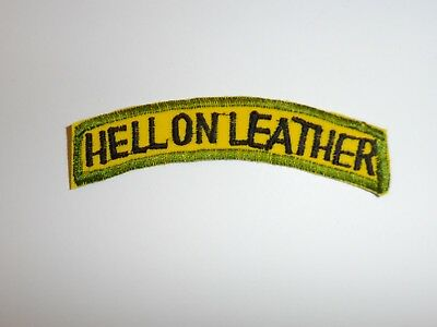 e1496 Korean War US Army Tab Hell on Leather 1st Cavalry Division R21A2