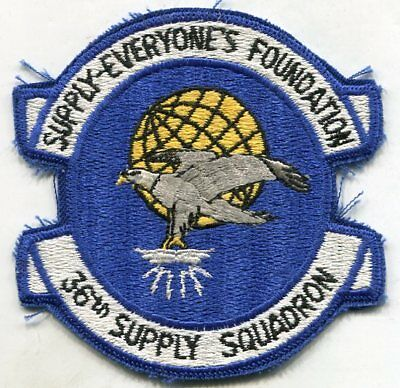 US Air Force USAF 36th Supply Squadron Patch