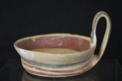 Fantastic Collectable Ancient Single Handled Bowl Circa 200-100BC