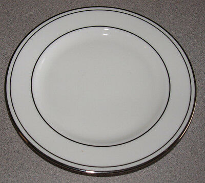 Lenox USA China - Federal Platinum - Bread Plate 6 1/4""