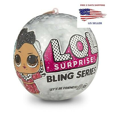L.O.L. Surprise! Bling Series * LOL dolls Christmas Gift 2018 NEW ball doll set