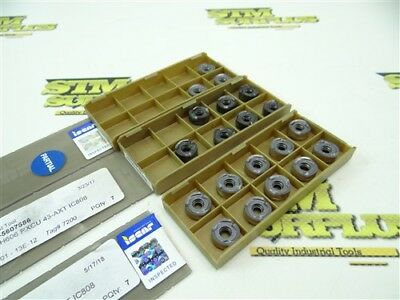 20 New Iscar Solid Carbide Indexable Inserts H606 Rxcu 43-Axt Ic808