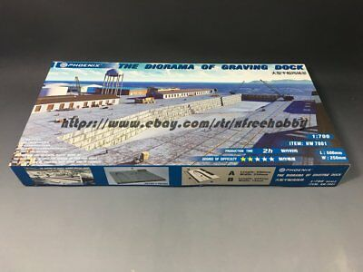 Phoenix HW7001 1/700 The Diorama Of Graving Dock