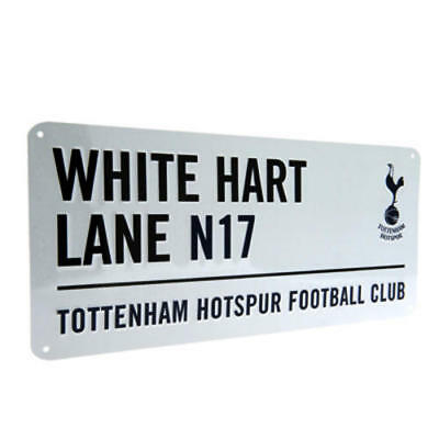 Tottenham Hotspur Fc Metal Street Sign - Official Merchandise - Spurs