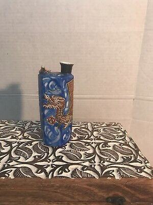 JAPANESE  MORIAGE SAKE Decanter 1950S TMK CHINA. Dragon ware