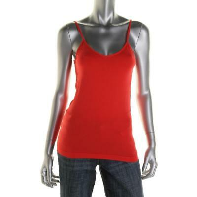 Energie Womens Red Cami Layering Sleeveless Tank Top Shirt Juniors M BHFO 7119