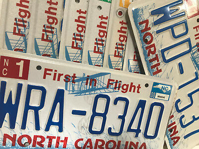 "(choice) North Carolina license plate - ""First in Flight"" design"