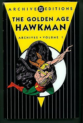 The Golden Age Hawkman Volume 1 (2005) Hardcover ~ DC Archive Editions