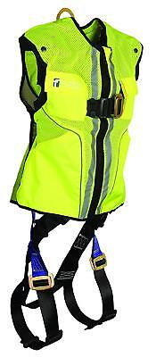 FallTech 70152X3XL Vest Harness, Non-Belted FBH, Reflective Vest, XX-L/3X-L