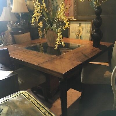 Mid Century Modern Contemporay Art Deco Dining Table Chairs