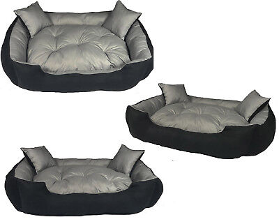 Dog Bed Large luxury Waterproof sofa kennel removable pillow 2 pillows free 2in1