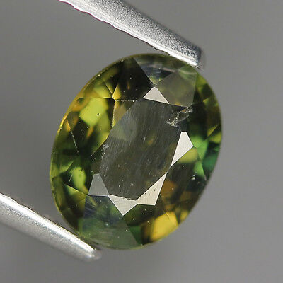 1.20 Ct Natural Unheated Greenish Yellow KORNERUPINE Oval Gem @ See Vide!