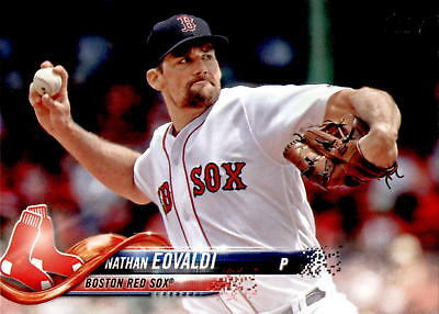2018 Topps Update Nathan Eovaldi #US51 - Boston Red Sox