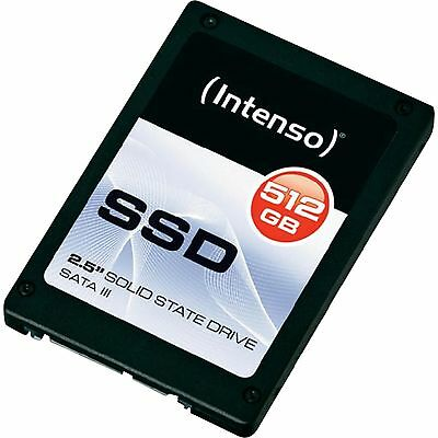 Intenso TOP SSD 512 GB, Solid State Drive, schwarz