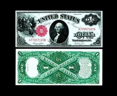 1917 $1~Large Size~Legal Tender~~Uncirculated