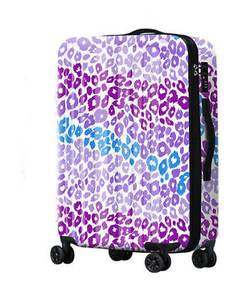 A587 Lock Universal Wheel Multicolor Travel Suitcase Cabin Luggage 24 Inches W