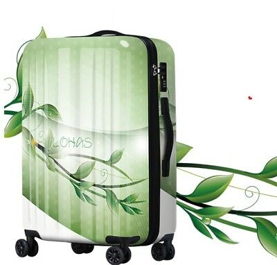 A193 Fashion Natural Universal Wheel ABS+PC Travel Suitcase Luggage 20 Inches W