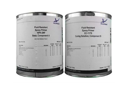Aircraft Yellow Epoxy Primer Kit . Akzo Nobel Aerospace Coatings