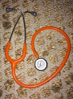 Littmann pediatric stethoscope orange Infant nursing