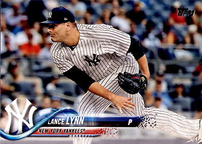 2018 Topps Update Lance Lynn #US258 - New York Yankees