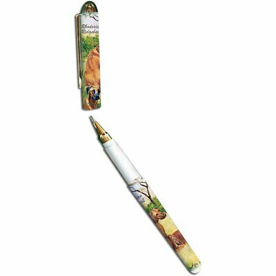 New Rhodesian Ridgeback Pet Dog Designer Pen in Gift Box by Ruth Maystead