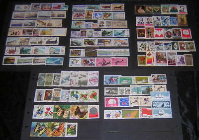 Poland 1976-1980 Collection 135 diff used stamps