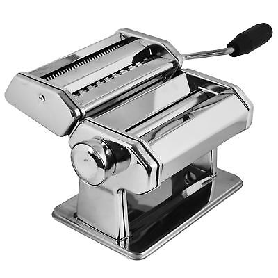 New Stainless Steel Home Made Pasta Machine Lasagne Tagliatelle Fettuccine Maker