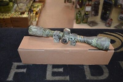 "Thompson Center Predator 3-9x40mm Rifle Scope Duplex 1"" Tube Realtree Max-1"