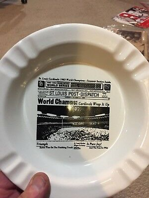 1982 St Louis World Champs plate