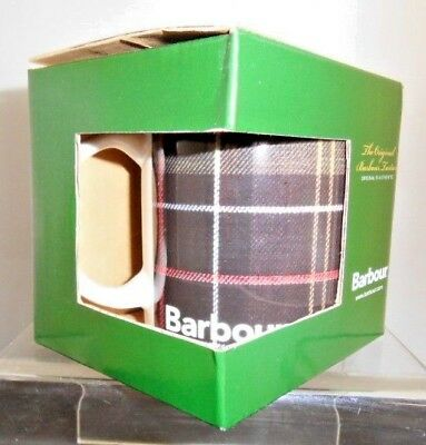 Boxed Original Barbour Tartan Mug