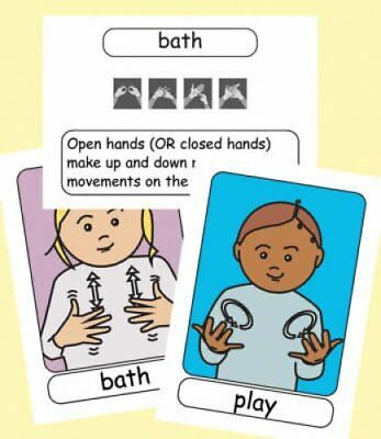 Let's Sign BSL Flashcards: Early Years and Baby Signs (British Sign Language)...