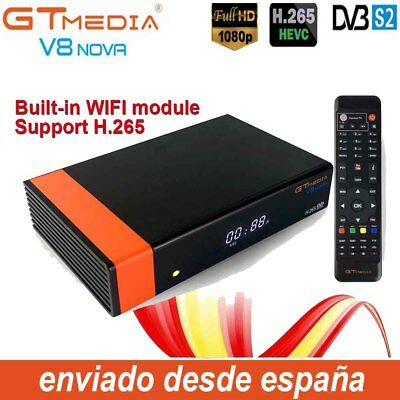 DVB-S2 Gtmedia V8 Nova Digital Satellite Receiver Built-in WIFI HD H.265 Decoder